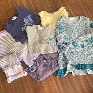 18 Piece Naartjie Kids Girls Bundle Lot Clothing